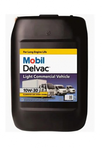 Mobil Delvac Light Commercial Vehicle 10W-30